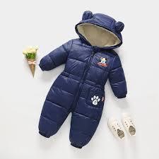 <b>Russian</b> autumn <b>winter newborn baby</b> clothes jumpsuit warm boys ...