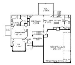 Bedroom House Plans One Story With Basement   Home Plans    Benefits One Story House Plans Interior Design Inspiration