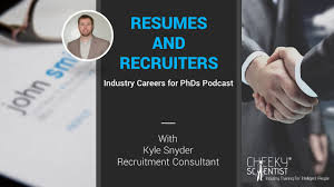 resumes and recruiters industry careers for phds podcast resumes and recruiters industry careers for phds podcast cheeky scientistreg industry training for intelligent people