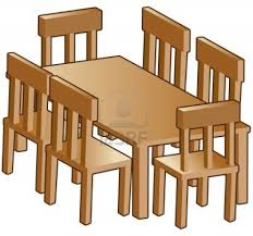 Free Dining Room Chairs Dining Room Furniture Clipart
