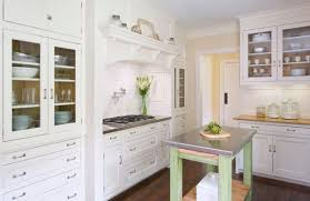 glass front cabinets are a nice option for kitchens in which you can alternate them with other types of storage and thus avoid a plain and monotonous nice types kitchen