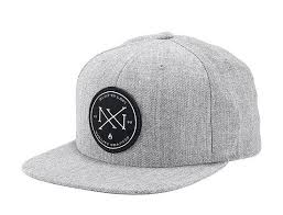 Creed Heather Grey Snapback Cap by NIXON | Кепка, <b>Бейсболка</b> ...