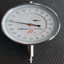 Micrometer Dial Indicator Gauge 0-1 mm / <b>0.001</b> mm <b>precision</b> ...