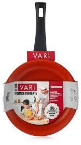 Купить <b>Сковорода VARI Учимся готовить</b> 26 см, черный ...