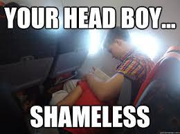 Your Head Boy... Shameless - Head Boy Jamie - quickmeme via Relatably.com