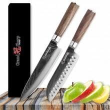 Grandsharp <b>2 предмета</b> Кухня <b>Ножи набор</b> дамасский нож ...