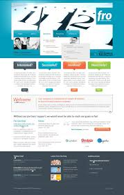advertising agency website template 41841
