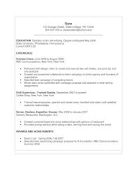 sample resume if still in college college resume 2017 sample