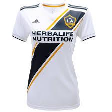 <b>Women's</b> LA <b>Galaxy</b> Cristian Pavón adidas White <b>2019</b> Primary ...