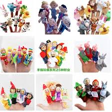 top 8 most popular cartoon animal <b>finger</b> puppet plush toys children ...