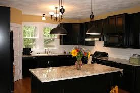 kitchen backsplash ideas for dark cabinets home best ideas cabinet and lighting