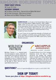worldview partners partnering you for worldview equipping in sg for decades darrow miller has taught about the nature of the church to believers around the world he is not just a teacher but a leader who models what a