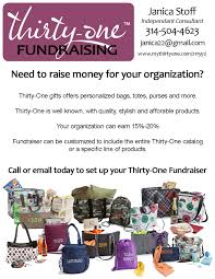 thirty one fundraising great flyer idea to promote the thirty one fundraising great flyer idea to promote the opportunity to groups