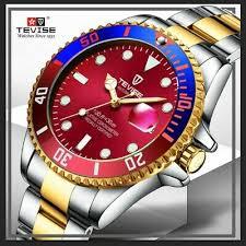 <b>Tevise</b> Quartz Movement Best <b>Men's</b> wrist <b>Watch</b> Submariner ...