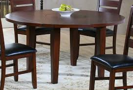 ameillia round drop leaf table amazing dark oak dining
