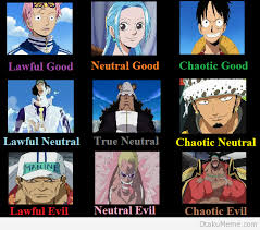 Otaku Meme » Anime and Cosplay Memes! » One Piece Good Neutral Evil via Relatably.com
