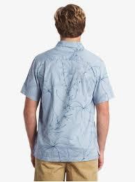 Quiksilver Mens Maliko <b>Lizard</b> Woven Shirts <b>Casual</b> Button-Down ...