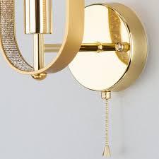 Настенный светильник <b>Eurosvet 60077/1</b> золото