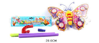 Каталка-<b>игрушка Shantou Gepai</b> Бабочка на палочке ...