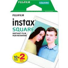 <b>Fujifilm</b> instax <b>SQUARE</b> Instant <b>Color Film</b>, Twin Pack - 20 ...