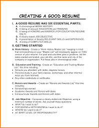 job resume skills assistant cover letter job resume skills create good job resume good resume has six essential parts and gettung started easy for you to get a jobs png