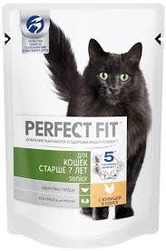 <b>Паучи Perfect Fit</b> Senior для пожилых кошек 85 г - купить в ...