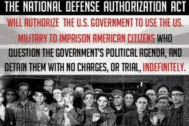 Obama Signs the NDAA - For Indefinite Detention of American Citizens article