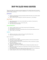 making a resume  seangarrette co