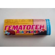 БАД Экофарм <b>гематоген ванильный</b> аскорбинка + - «Вкус ...