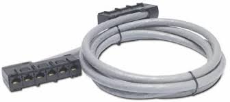 6xRJ <b>APC Cable</b>/<b>CAT5e UTP</b> CMR Gray