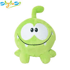 <b>20cm Kawaii</b> om nom Frog Plush <b>Toy</b> Cut the Rope Soft Rubber ...