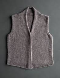 <b>Жилет</b> лицевой гладью Nancy | knitting | Вязаный <b>жилет</b>, Вязание ...