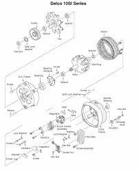 10si alternator wiring diagram nilza net on simple 3 wire gm alternator diagram