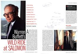 warren buffett s wild ride at salomon com john gutfruend article 1997 1