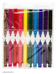 Набор <b>фломастеров FANCY 2В1</b>, 10 цветов <b>Action</b>! 2257724 в ...