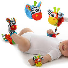 <b>Random style Baby</b> Animal Rattan Watch with Wrist Strap /<b>Socks</b> ...