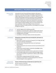 mechanical engineering skills resume resume innovations engineer resume samples tips and templates online mechanical engineer