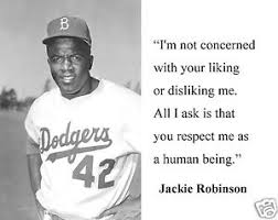"""Jackie Robinson """" I'm not concerned"""" Famous Quote 8 x 10 Photo ... via Relatably.com"""