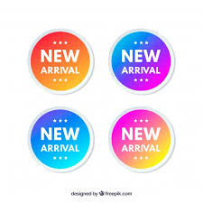 Free Vector | <b>New arrival</b> label collectio