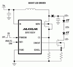 digital dimming solves led color dilemma digikey application circuit for max16834