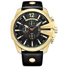 Curren Men Watches Luxury Date Gold Male Fashion ... - Amazon.com