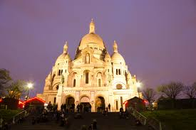The Sacred-heart Basilica Of Montmartre