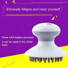 Waterproof Electric Vibrating <b>Scalp Massage</b> Head Hair <b>Relax</b> ...
