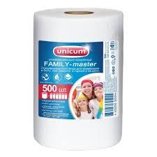 <b>Бумажные</b> полотенца <b>UNICUM</b> FAMILY Master 23*22см, 500 ...