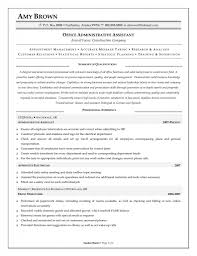 resume objective for administrative assistant executive assistant resume objectives