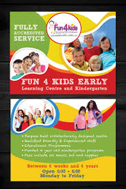 childcare flyer design galleries for inspiration education flyer design by esolz technolog
