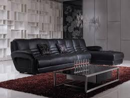 room decorating ideas black leather furniture