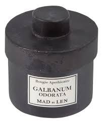 <b>Ароматическая свеча</b> Galbanum Odorata Mad et Len купить, цена ...