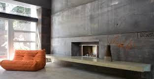 valley concrete bathroom ketchum ftc: custom concrete fireplace by fu tung cheng concrete exchange