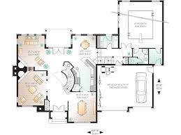 Eplans New American House Plan   Incredible Indoor Pool      Level
